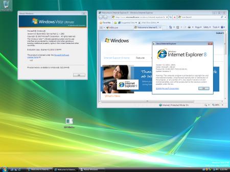 Internet Explorer 8 отправлен на золото