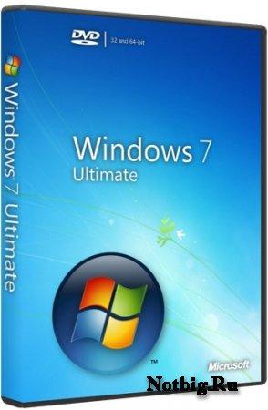 Microsoft Windows 7 Ultimate RTM x86 Russian OEM DVD