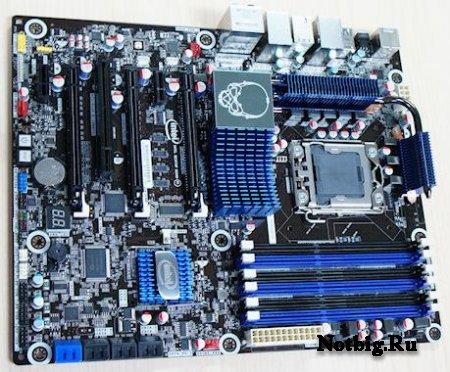 Intel оснащает плату на базе чипсета X58 портами USB 3.0 и SATA-600