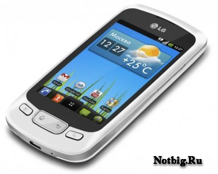 Android 2.3 Gingerbread установлен на LG Optimus One P500