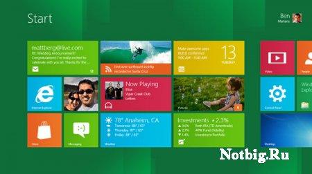 Опубликованы минимальные требования к устройствам под управлением Windows 8