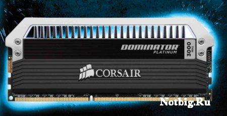 Corsair выпустит модули памяти DDR3-3000 серии Dominator Platinum