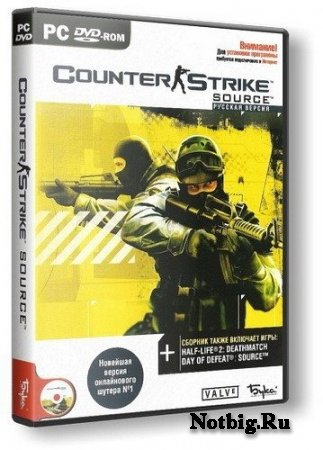 [RePack] Counter-Strike: Source {v.1.0.0.71} (Non Steam / P) [Ru] 2011 | DXPort